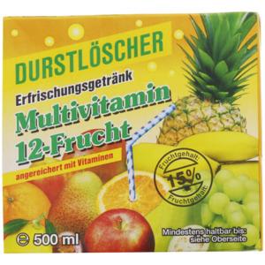 Durstlöscher Fruchtlimonade