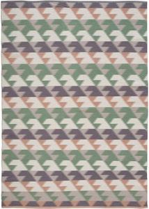 Kelim-Teppich mit geometrischer Musterung