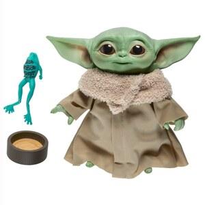 Star Wars The Mandalorian Baby Yoda Plüsch mit Soundeffekten