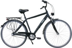 HAWK Bikes Trekkingrad »HAWK Citytrek Gent Premium Black«, 3 Gang Shimano Nexus Schaltwerk