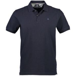 Lerros Poloshirt, Baumwolle, Knopfleiste, Logo-Stickerei, für Herren