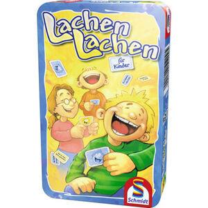 Schmidt Spiele Lachen Lachen für Kinder in Metalldose