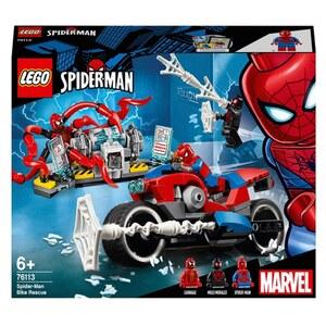 LEGO Marvel Super Heroes - 76113 Spider-Man Motorradrettung