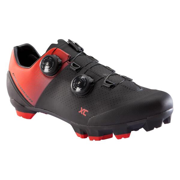 Fahrradschuhe XC 900 MTB rot/schwarz