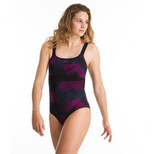 Badeanzug Aquafitness Anna All Rib Damen blau