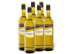 6 x 0,75-l-Flasche Weinpaket Cimarosa Chardonnay Colombard Australia, Weißwein