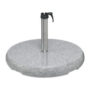 Glatz Sonnenschirmständer Granit rund 90 kg