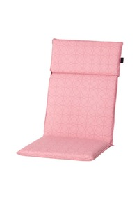 Madison Hochlehner-Auflage Circle Pink 120 x 50 cm