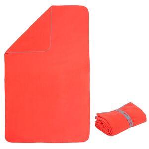 Mikrofaser-Badetuch kompakt L 80×130cm orange