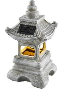 Solar Laterne Pagoda