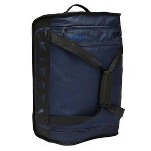 Sporttasche Trolley Essential 30 Liter blau/schwarz