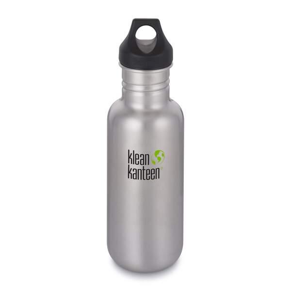 Klean Kanteen CLASSIC EINWANDIG, 532 ML, LOOP CAP - Trinkflasche