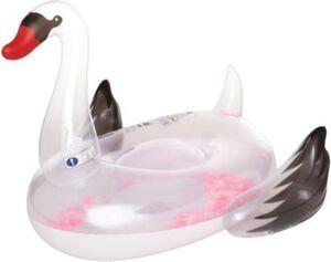 Floater Schwan mit Federn bunt