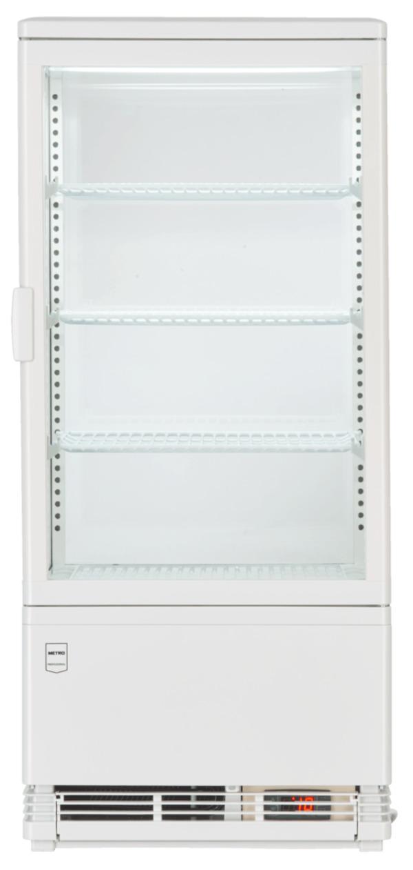 METRO Professional Kühlvitrine GGC2078, weiß