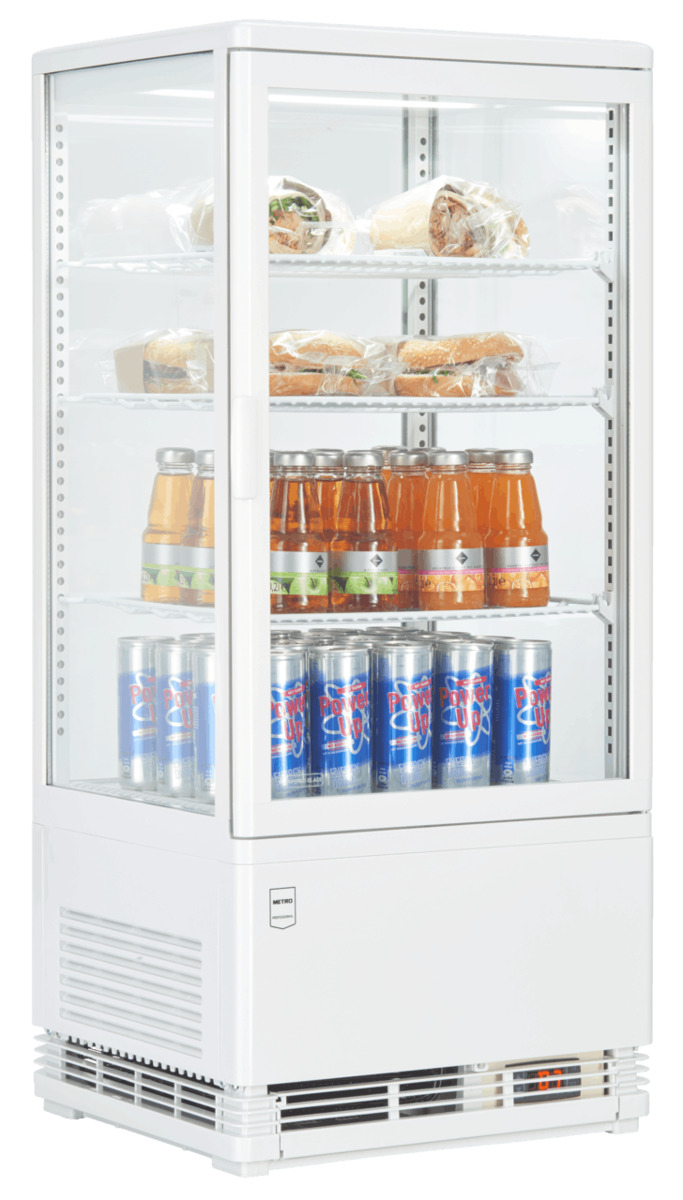 Bild 5 von METRO Professional Kühlvitrine GGC2078, weiß
