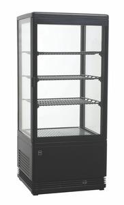 METRO Professional Kühlvitrine GGC2078B, schwarz