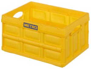 METRO Professional Klappbox Gelb