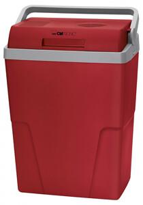 Clatronic Kühlbox KB 3713 rot-grau, 25L