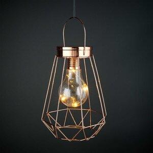 GEOMETRICS LED Laterne Glühbirne