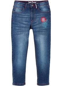 Jungen Jeans mit Druck, Slim Fit
