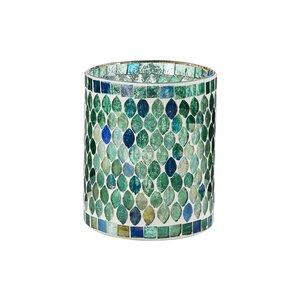 SASSOLINO Mosaik Windlicht 12,5 cm