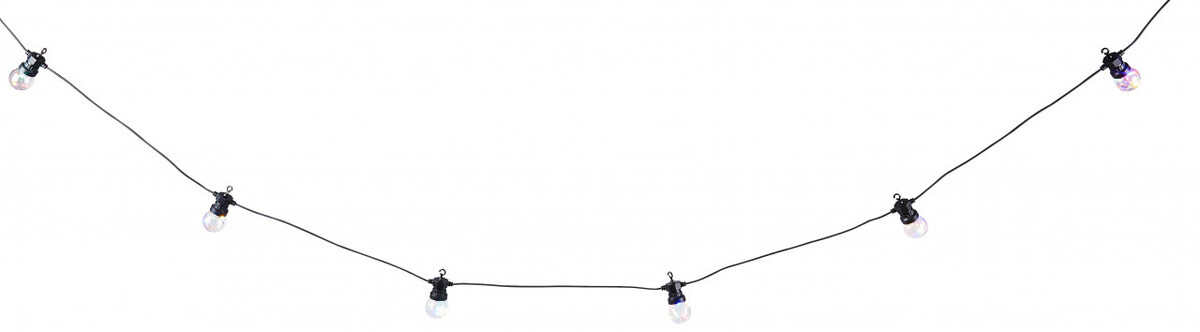 Bild 2 von LED Lichterkette mit 10 Lampen, bunt