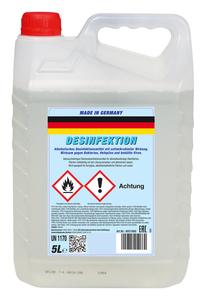 Dr. Starke Flächendesinfektion 5 Liter -über 50% Ethanol Anteil