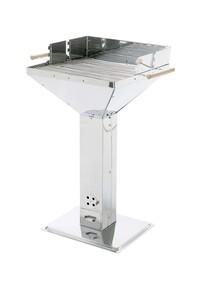 Grillchef Trichtergrill 50x50 INOX