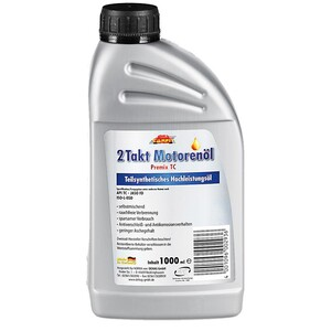 Carfit 2-Takt-Motorenöl, teilsynthetisch, 1 Liter