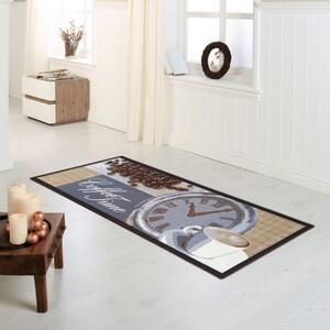"Bella Casa Teppichläufer ""Coffee Time"", ca. 67 x 180 cm"