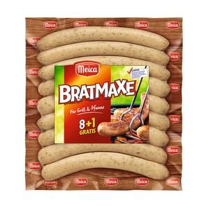 "Meica Grillwurst ""Bratmaxe"" 8 + 1 Gratis, jede 560-g-SB-Packung"