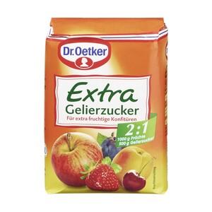 Dr. Oetker Gelierzucker Extra 2:1 500-g-Packung