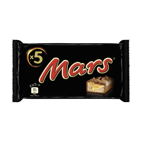 Mars, Snickers oder Twix, 5er, jede 225/230/250-Packung