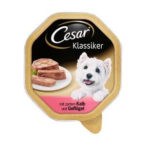 Cesar Hunde-Nassnahrung versch. Sorten, jede 150-g Schale
