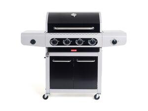 Barbecook Gasgrill »SIESTA 412«, 4 Hauptbrenner, Grillroste aus Gusseisen, für 16 Personen