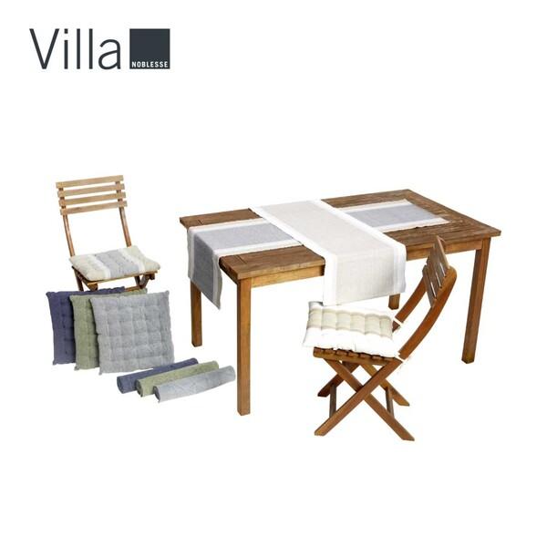 Stuhlkissen 40 x 40 cm oder Tischläufer 40 x 150 cm, je