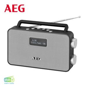 DAB+-Radio 4153 • PLL-UKW-Radio mit RDS • 2-zeiliges LC-Display • Alarm-Funktion, Aux-In • Netz- oder Batteriebetrieb