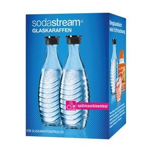 Glaskaraffen Duo-Pack - je ca. 0,6 Liter Inhalt