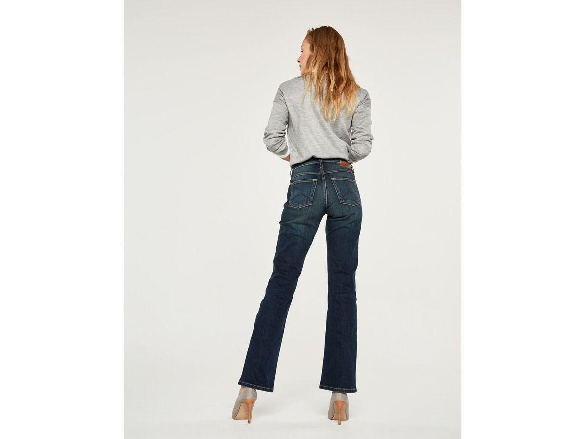 Bild 4 von Mustang Jeans Damen »Sissy Boot«, Comfort Fit, mit Lederpatch, hoher Baumwollanteil