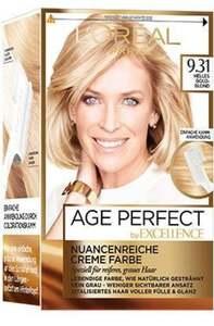 L'Oréal Paris Age Perfect Nuancenreiche Creme Farbe 9.31 Helles Goldblond