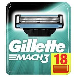 Gillette Mach3 Rasierklingen 18 Stück