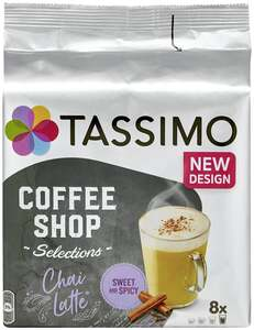 TASSIMO Coffee Shop Selections Chai Latte