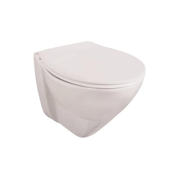 Wand-WC Set 'Lidano 2.0' Tiefspüler, 6 cm erhöht
