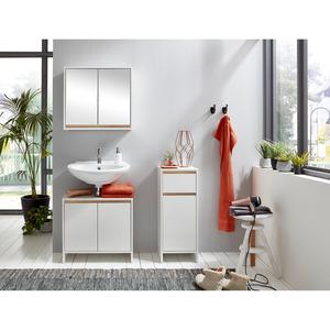 Waschbeckenunterschrank 'Basic' 60 x 55 x 28 cm weiß