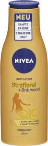 NIVEA Body Lotion Straffend + Bräunend