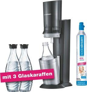 Sodastream Crystal 2.0 Titan Aktionspack mit 3 Karaffen