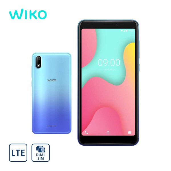 Smartphone Y60 · 2 Kameras (je 5 MP) · 1-GB-RAM, bis zu 16-GB-interner-Speicher · microSD™-Slot bis zu 128 GB · 1 x microSIM und 1 x nanoSIM · Android™ 9.0 (Go Edition) · Bildschirmdiagonal