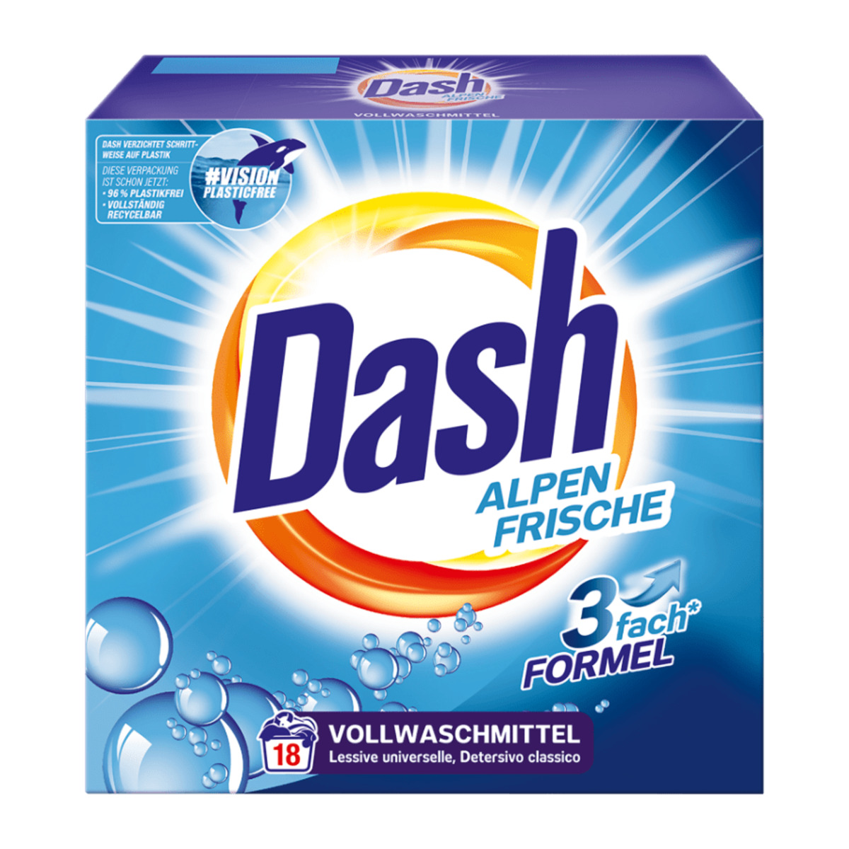 Bild 2 von Dash Waschmittel
