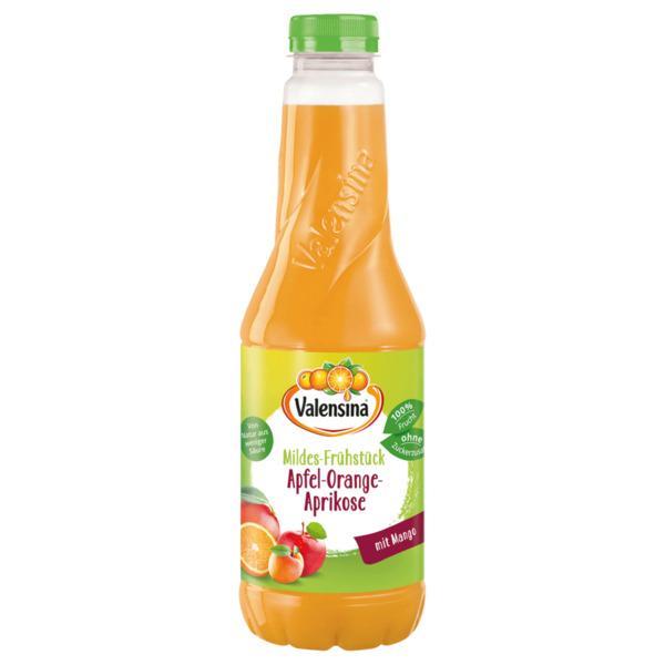 Valensina Mildes-Frühstück Apfel-Orange-Mango-Aprikose 1l