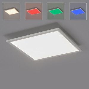 LED-Deckenleuchte Leuchten Direkt LOLAsmart Flat, 45 x 45 cm
